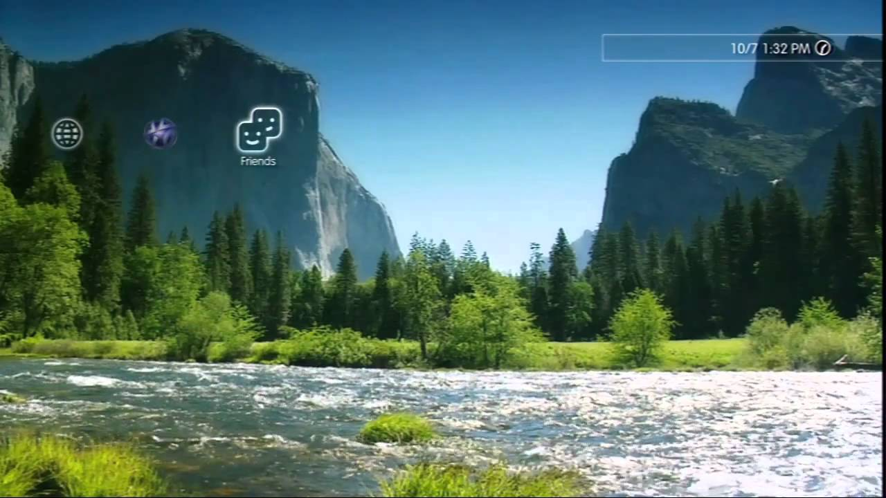 A Tranquil Stream PS3 Dynamic Theme