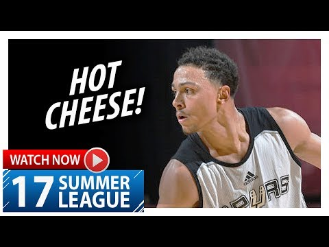 Bryn Forbes Full Highlights vs 76ers (2017.07.09) Summer League - 35 Pts!