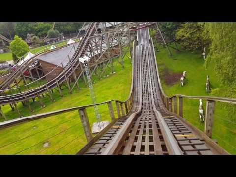 Rollercoaster POV In 1080p Full HD 60fps