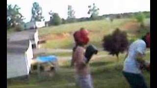 Boxing In The Yard