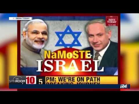 Israel Media's reaction on India and Pakistan's News about Modi's Israel Visit