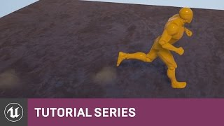 BP شخص 3 اللعبة: إنشاء الرسوم المتحركة بإعلام | 22 | v4.8 سلسلة دروس | محرك غير واقعي