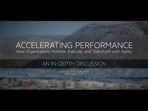 How Organizations Mobilize, Execute, and Transform with Agility: In-Depth Discussion