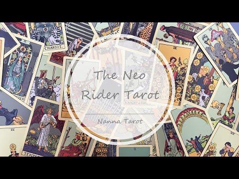 開箱  新世紀韋特塔羅牌-暗黑金 • The Neo Rider Tarot // Nanna Tarot
