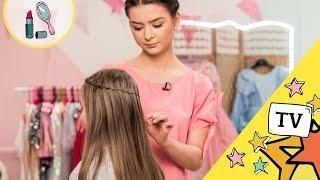 Kacik Piekna fryzury wodospad na włosach My3 - TV dla Dzieci