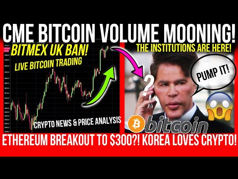 CME BITCOIN VOLUME MOONS! BTC Bullish! ETHEREUM ANALYSIS! Crypto News & Bitcoin TA