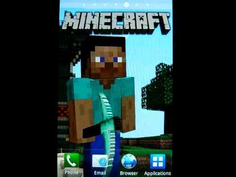 Minecraft Live Wallpaper - Free Android - YouTube