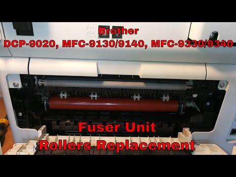 for Brother HL3140 3150 3170 DCP9020 9130 9140 9340 Upper Fuser Roller 3170U New