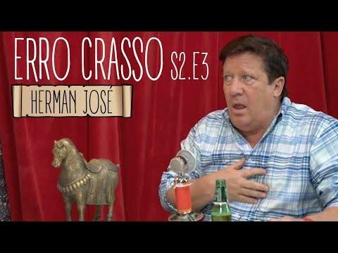 Erro Crasso T2 Ep3 - HERMAN JOSÉ pinta o cabelo, fala do Instagram e da relação entre Pedro e Luís.