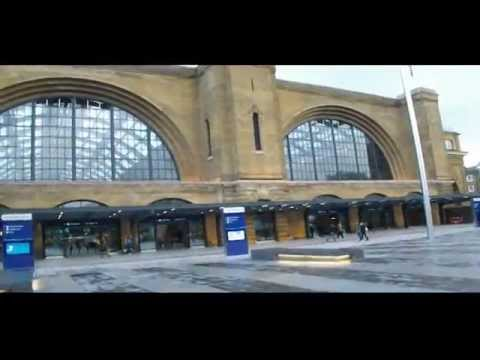 A Walk Round King's Cross Station.