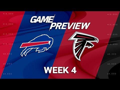 Buffalo Bills vs. Atlanta Falcons   Week 4 Game Preview   NFL Playbook