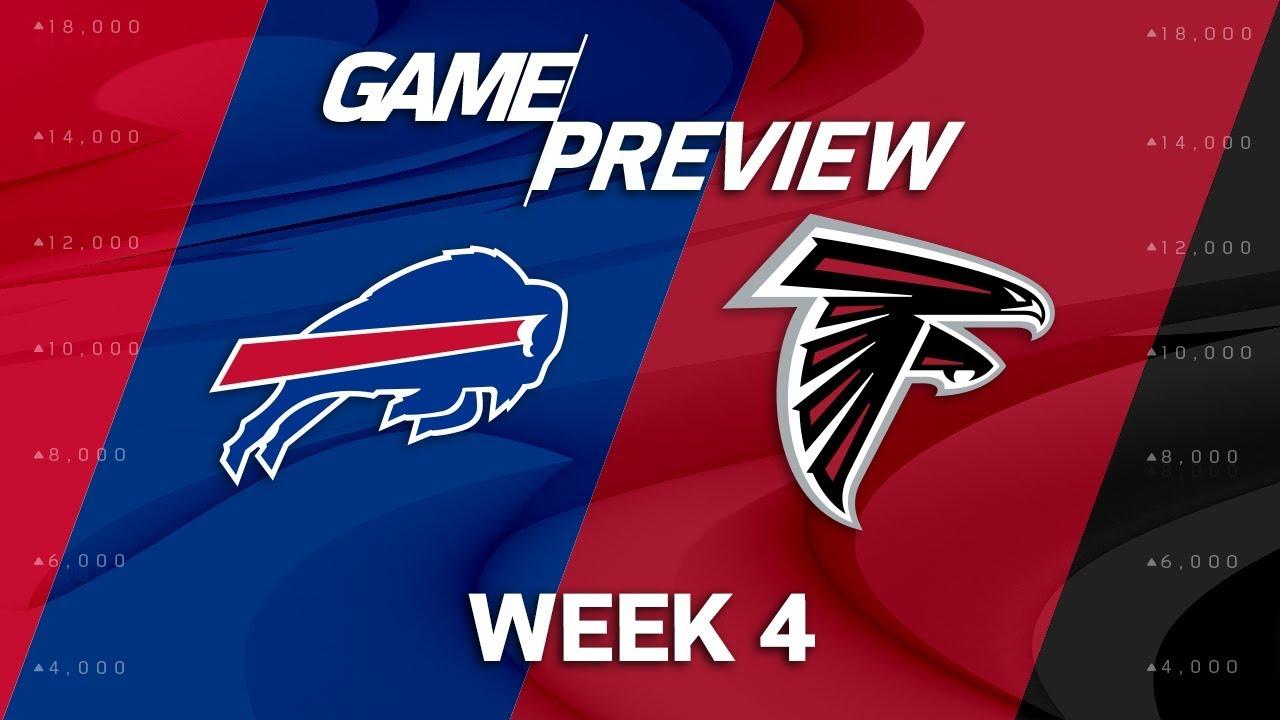 Buffalo Bills vs. Atlanta Falcons | Week 4 Game Preview ...