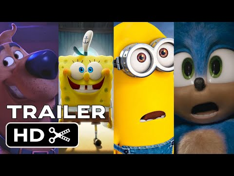 Top Upcoming ANIMATION and FAMILY Movies 2020  - NEW Kids Trailers