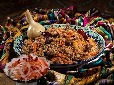 Кухня Узбекистана. Плов, рецепт, поэтапное приготовление. Uzbek Cuisine