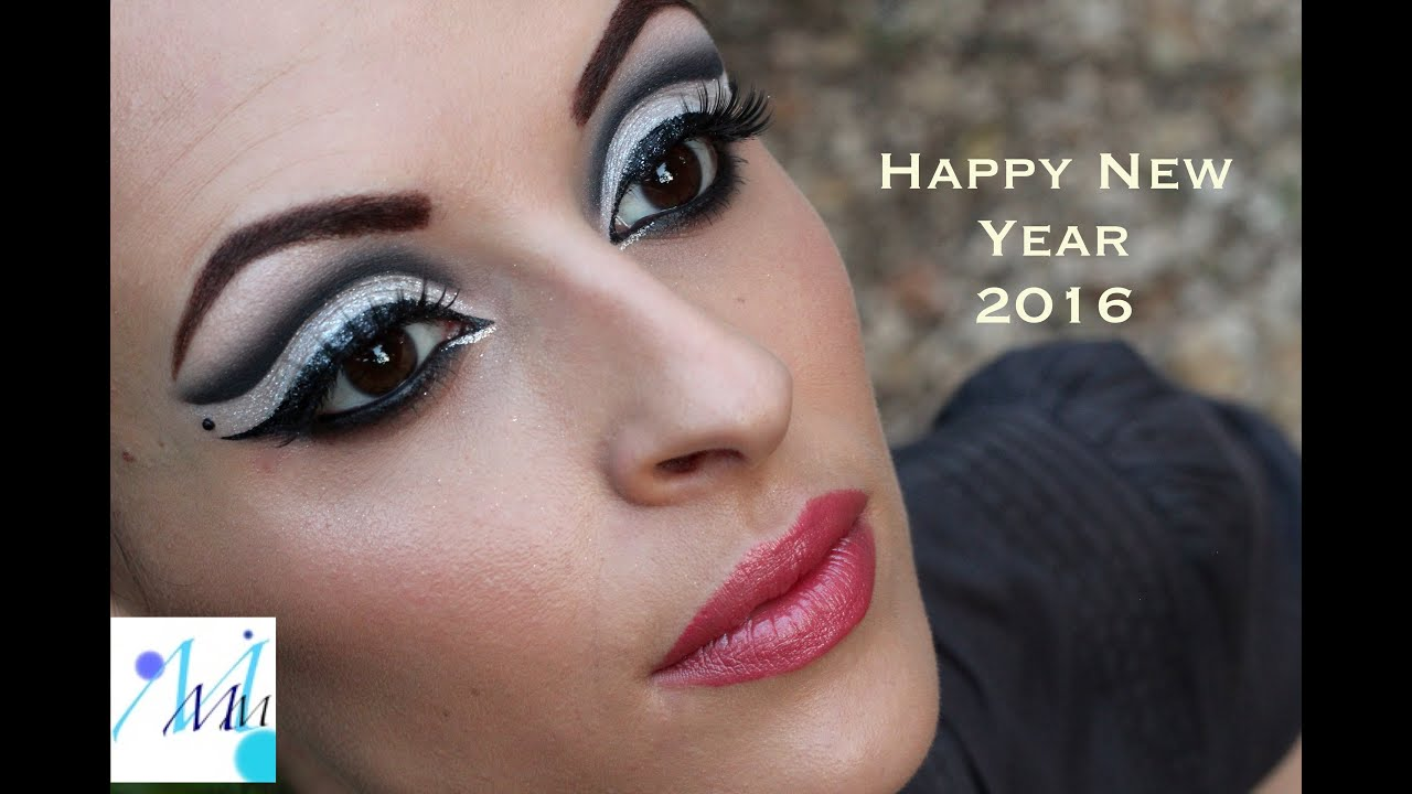 Maquillage De Soiru00e9e/Party Makeup  Nouvel An 2016/Happy New Year 2016 - YouTube