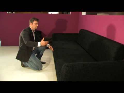 schlafsofa italiana xxl querschl fer mit bettkasten und lattenrost youtube. Black Bedroom Furniture Sets. Home Design Ideas
