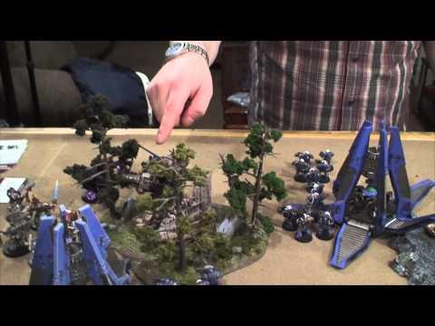 TBMC - HD Video Batrep - 1850 Ultra Marines vs Grey Knights