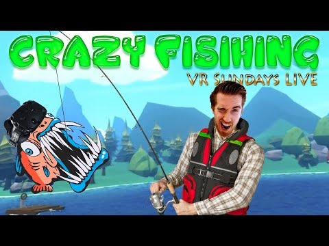 Crazy fishing vr vr sundays with rowdy 12 youtube for Crazy fishing vr