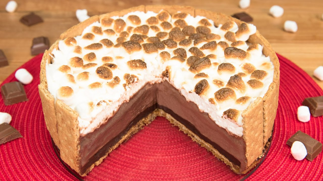 Smores ice cream cake from cookies cupcakes and cardio youtube ccuart Gallery