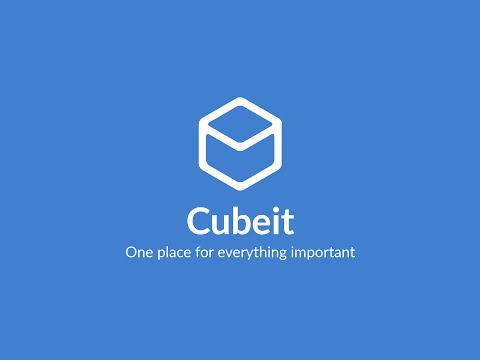 Cubeit - App Demo Video