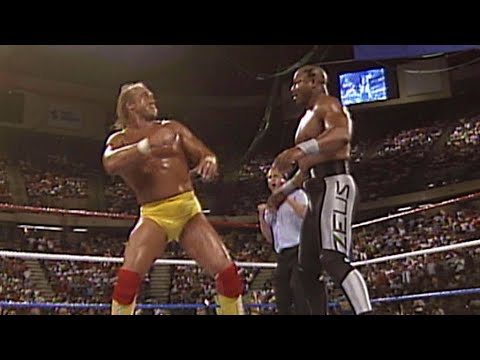 "Hulk Hogan and Brutus ""The Barber"" Beefcake vs. ""Macho Man"" Randy Savage and Zeus: SummerSlam 1989"