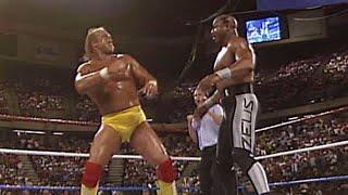 "Hulk Hogan and Brutus ""The Barber"" Beefcake vs. ""Macho Man"" Randy Savage and Zeus: SummerSlam 1989 thumbnail"