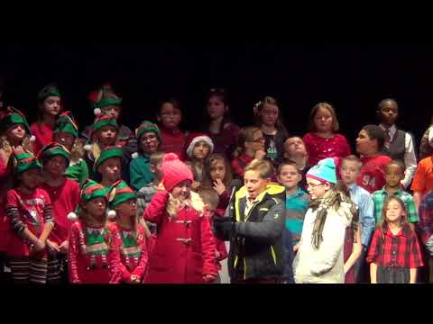 Jingle All the Way Roxana 3rd Grade Students