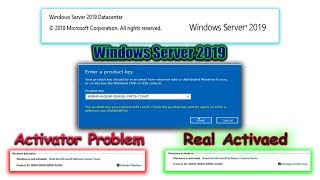 Windows Server 2019  Datacenter Product Key Problem Activate Enjoy