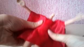 Как сделать быстро красивое платье для куклы !!!))(, 2015-02-12T10:56:09.000Z)