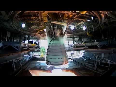 Space Launch System RS-25 Engine Test Fire NASA TV Coverage