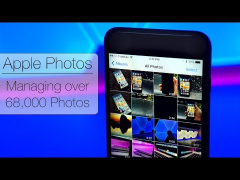 Manage photos