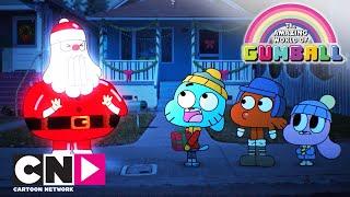 Смотреть видео Гамбола |Рождественское происшествие | Cartoon Network онлайн