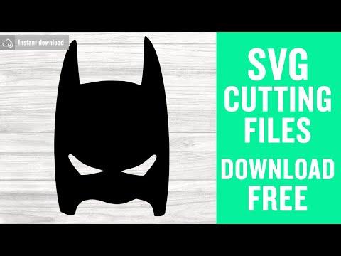 Batman Mask Svg Free Mask Svg Batman Svg Instant Download Silhouette Cameo Shirt Design Superheroes Svg Free Vector Files 0396 Freesvgplanet