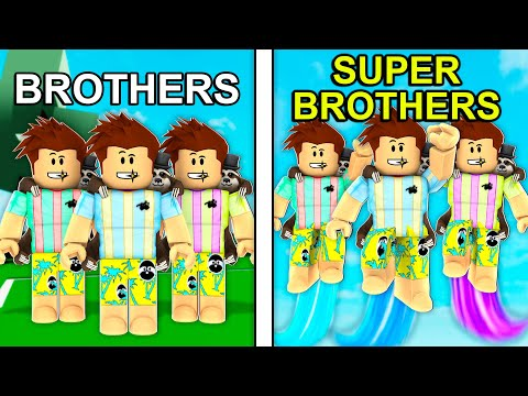 BROTHERS To SUPERBROTHERS In Roblox Brookhaven..