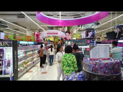 Big C Department Store at Pratunam Sector in Bangkok Capital Continued