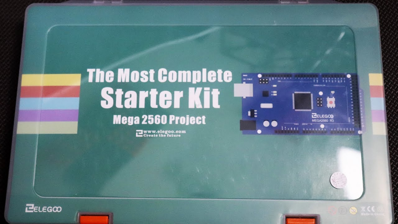 Unboxing Elegoo's Most Complete Mega 2560 Starter Kit