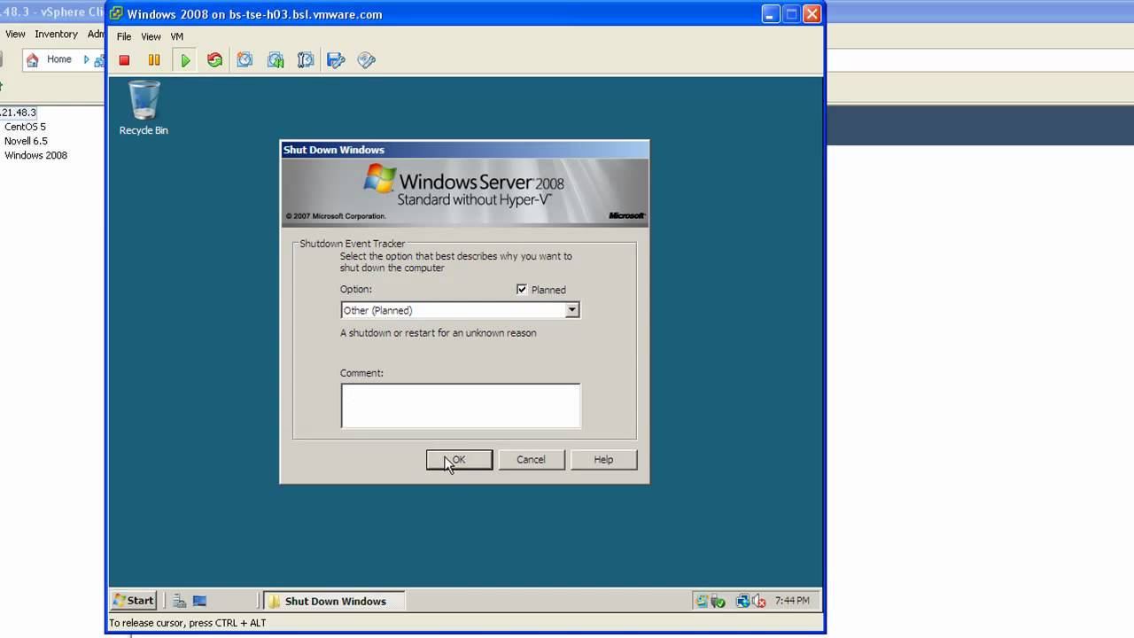 How to install windows 7 on a vmware workstation: 10 steps.