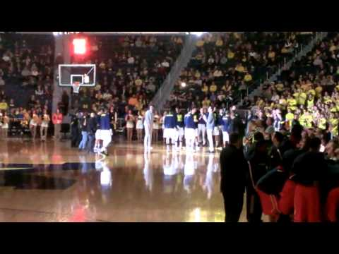 Michigan Men's Basketball 2014-2015 Intro