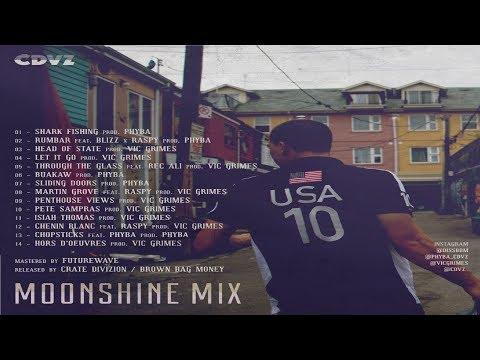 Daniel Son X Vic Grimes X PhybaOptikz - Moonshine Mix - Full Album (2017)