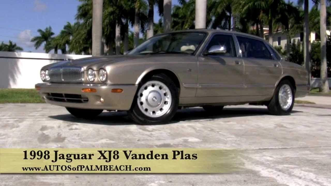 1998 jaguar xj8 vanden plas topaz - youtube
