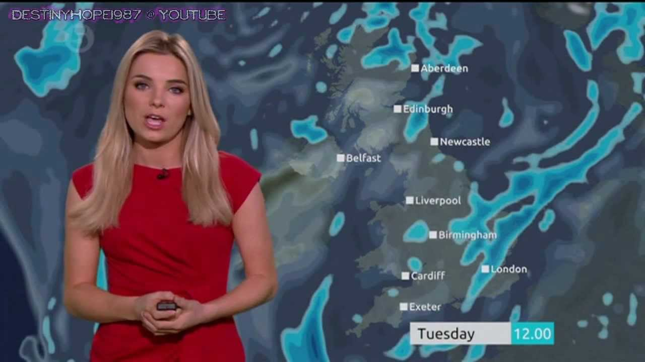 Sian Welby: Channel 5 Weather (Tuesday, November 27th 2012) (720p Test)