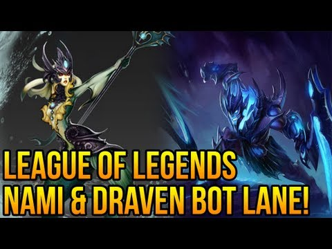 "League of Legends - Nami Support ""First impressions"" (Full Gameplay/Commentary)"