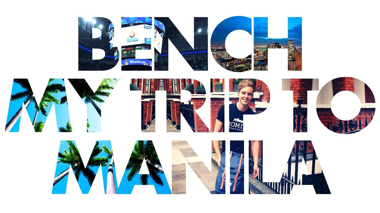 my trip to manila