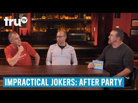 Impractical Jokers: After Party - Murr's Skewer Challenge Goes Horribly Wrong | TruTV