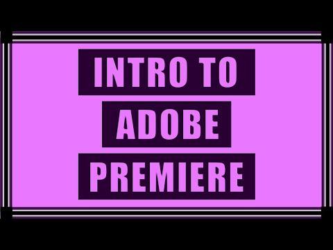 Intro to Adobe Premiere Pro CC   Basic Video Editing Tutorial thumbnail