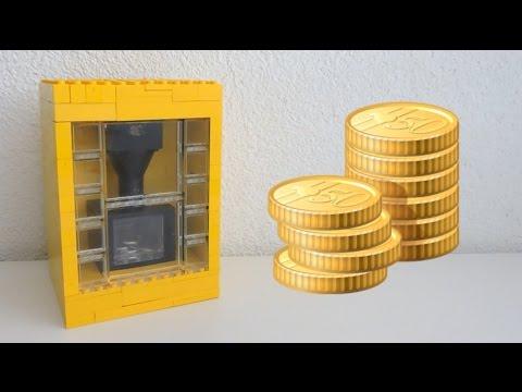 Lego illusion Coin Bank