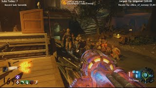 REVELATIONS ROUND 165 WORLD RECORD LIVE STREAM - BLACK OPS 3 ZOMBIES DLC 4 SALVATION