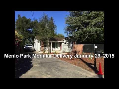 Menlo Park Modular Home Delivery