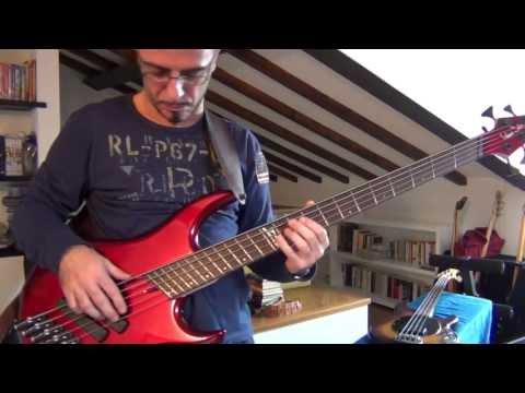 Phil Collins - Dance Into the Light - bassline - Dingwall Sklar Signature