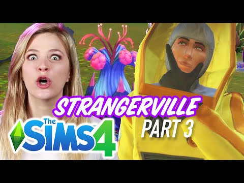 Single Girl Saves the World in The Sims 4 Strangerville - Part 3